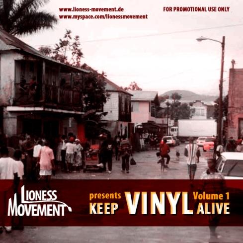Keep Vinyl Alive Vol.1 Cover Front